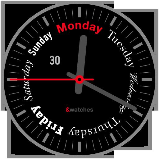 Seven Days Watch Face