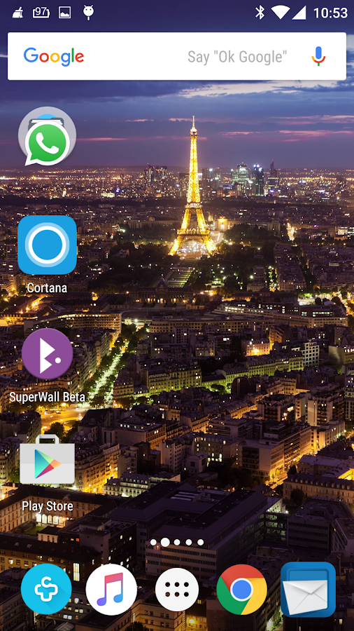SuperWall Video Live Wallpaper Screenshot 1
