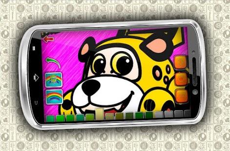 Игра для планшета раскраски