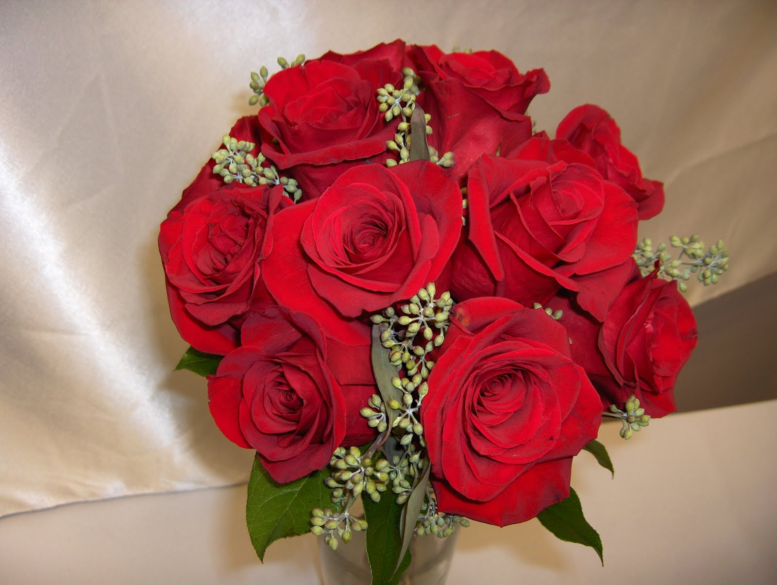 3 dozen rose bridal bouquet