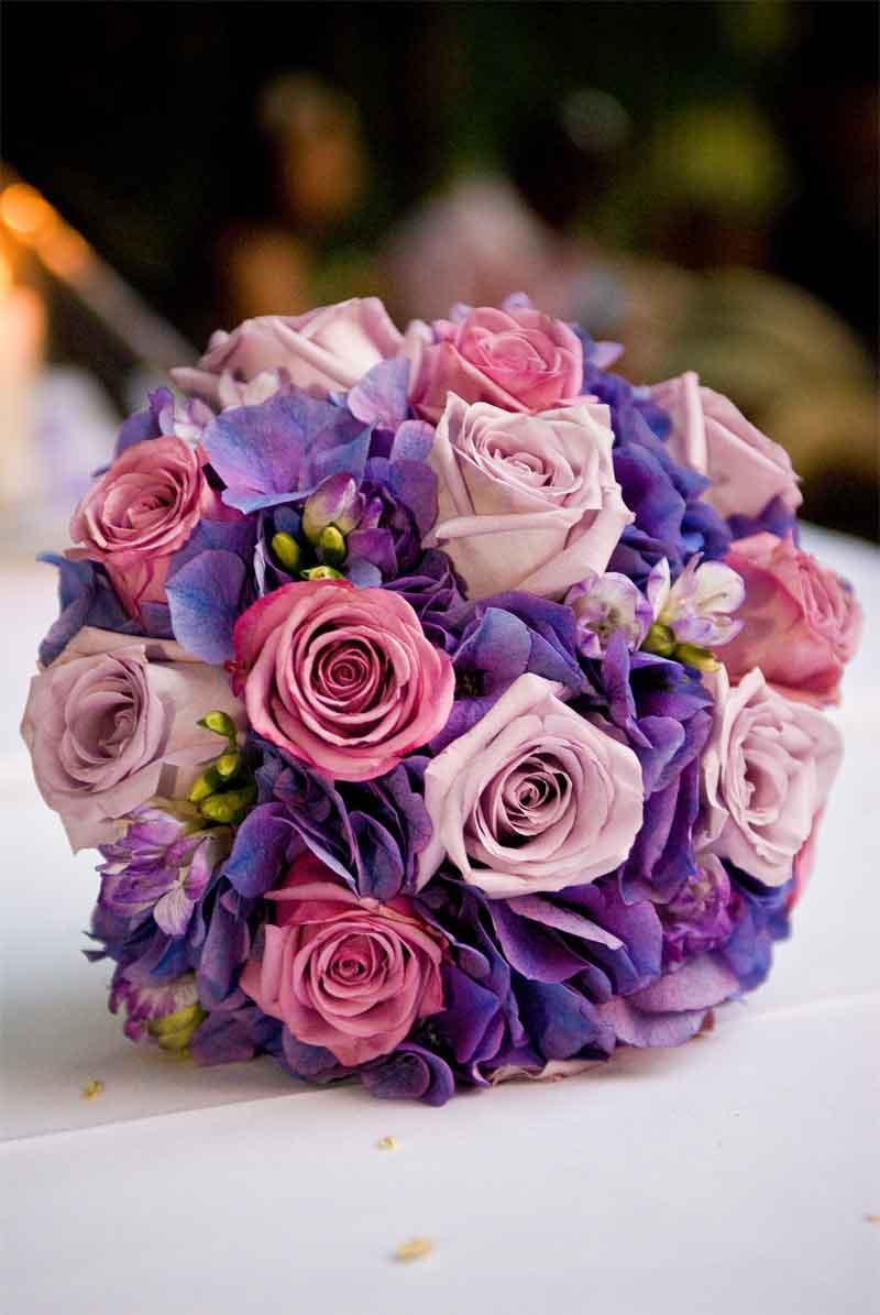 Amie\'s blog: Purple Wedding Bouquet
