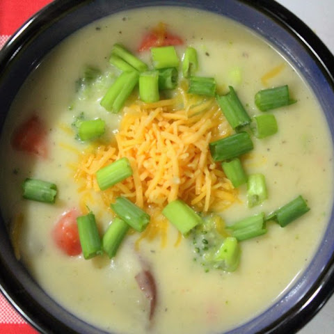 Light & Creamy Potato Soup
