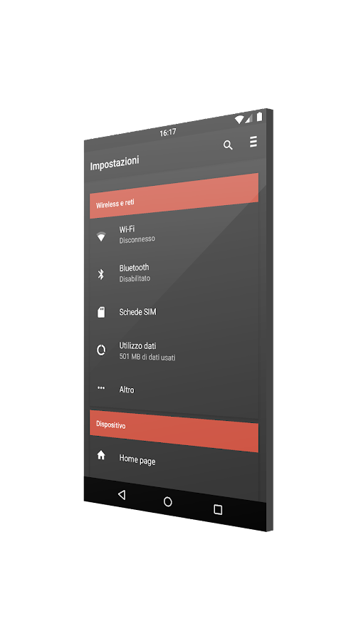 [Substratum] CommuteUI Theme Screenshot 1