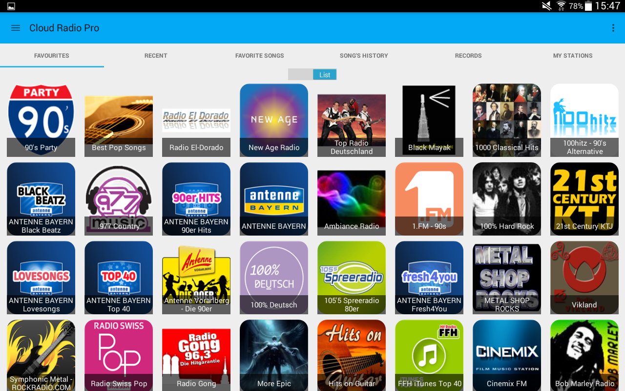 Cloud Radio Pro(Record&Lyrics) Screenshot 8