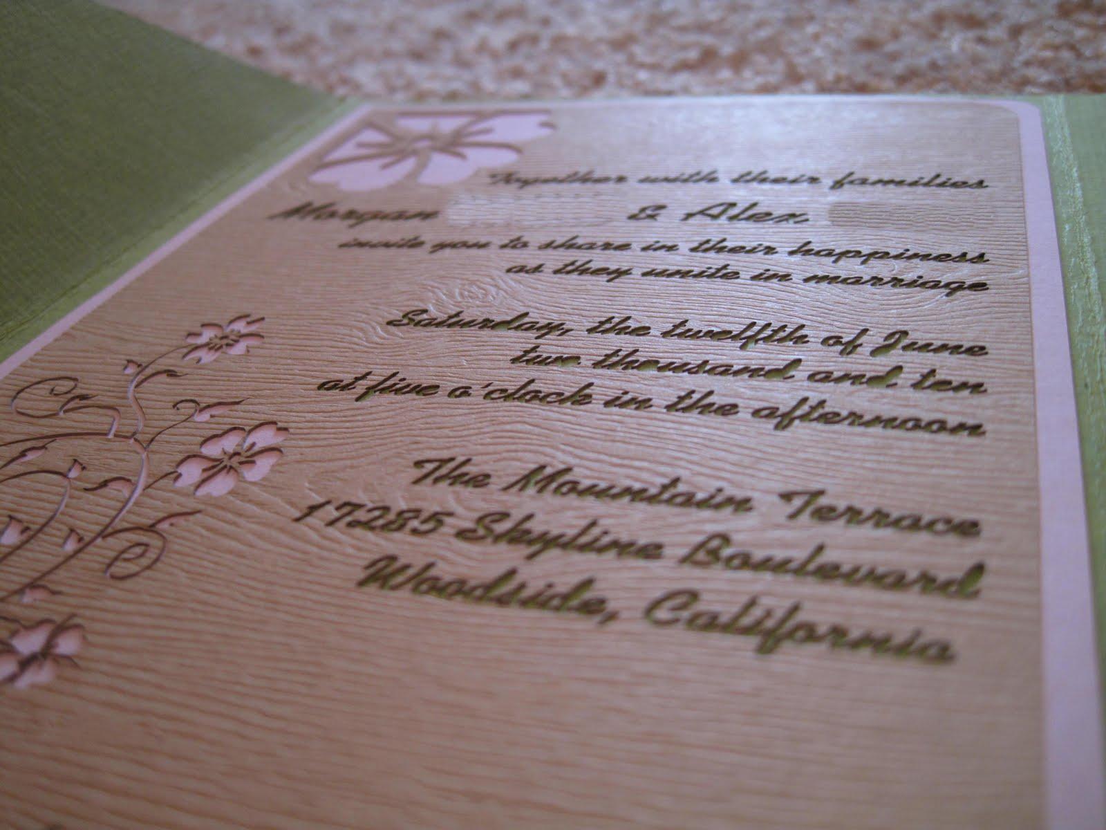 Invitation Creation, Part 4: