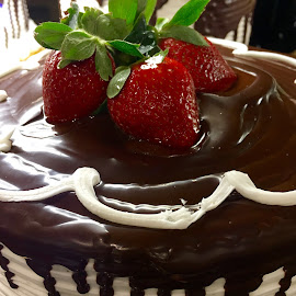 Strawberry Fine by Lope Piamonte Jr - Food & Drink Cooking & Baking