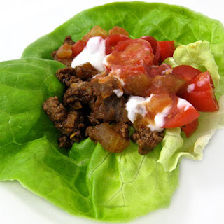Low Carb Taco Lettuce Wraps