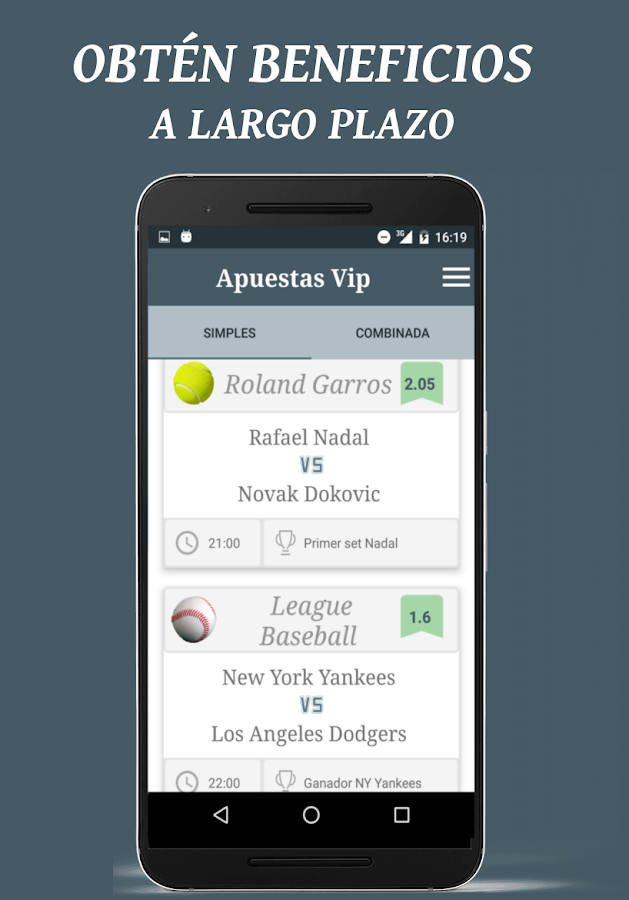 Apuestas Vip Screenshot 1