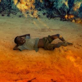 African child by Saverio Spatola - Babies & Children Child Portraits ( safary, gran kenyan, kenya, africa )