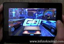 Bermain game NFS di Playbook