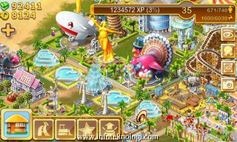 Screenshot Paradise Island