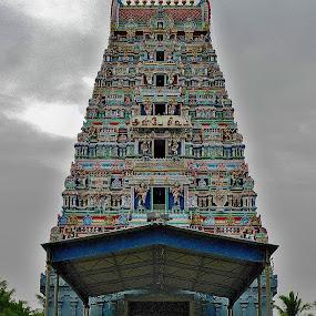 Hindu temple by Govindarajan Raghavan - Buildings & Architecture Places of Worship
