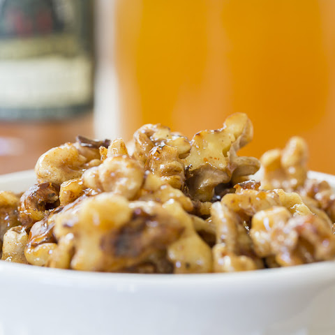Quick Honey Candied Nuts
