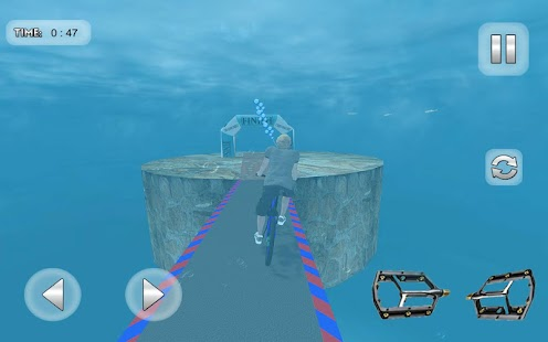 Underwater Bicycle Racing Tracks