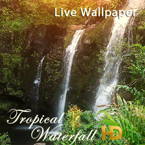 Tropical Waterfall HD LWP