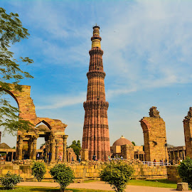 Mighty Minar by Sanjib Kumar Das - Buildings & Architecture Statues & Monuments