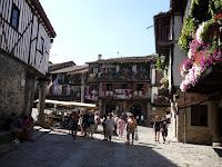 La Alberca es un pueblo de interés turístico y parada obligatoria en el camino a la Peña de Francia