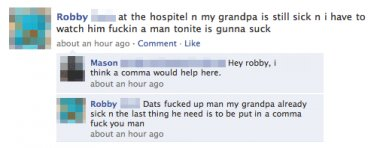 Comma, coma, what's the difference...
