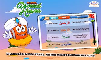Screenshot of Marbel Belajar Asmaul Husna
