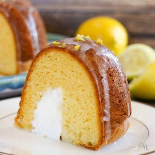 Cream Filled Lemon Bundt Cake