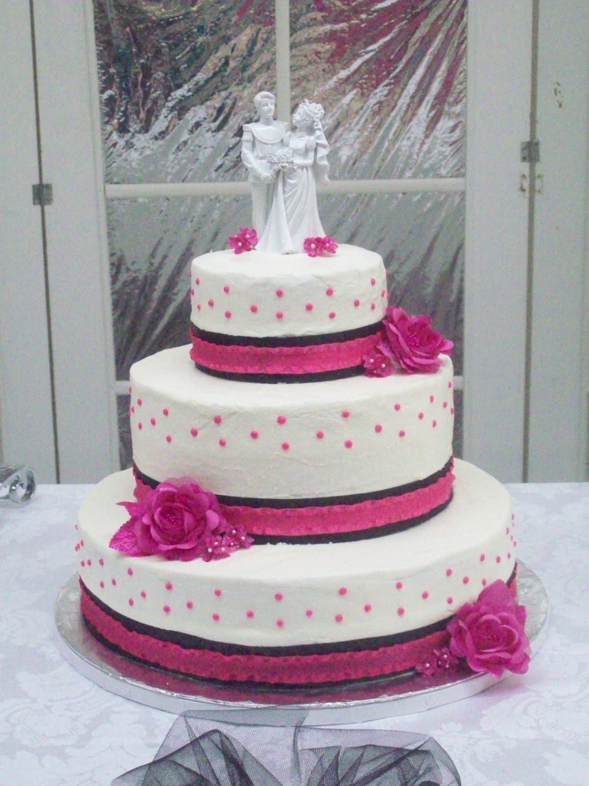 Eduarda\'s blog: hot pink and black wedding