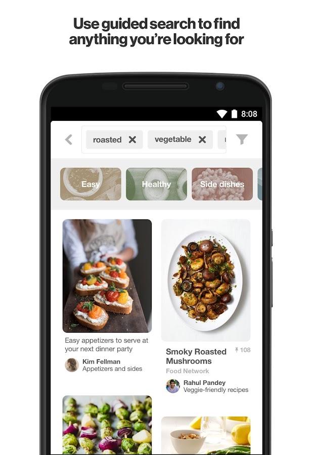 pinterest android apps on google play. Black Bedroom Furniture Sets. Home Design Ideas