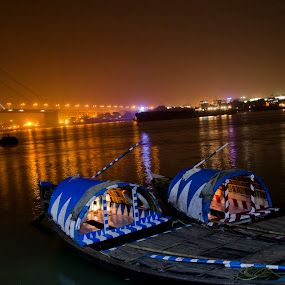 by Debkumar Majumder - Transportation Boats