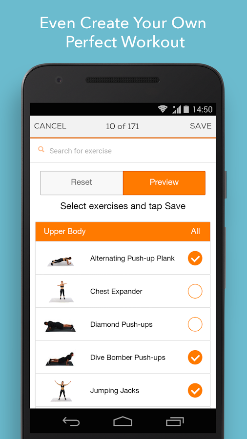Sworkit Personalized Workouts Screenshot 4