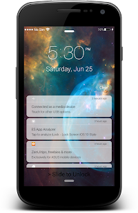 App iLock: Lock Screen OS 10 Style APK for Windows Phone