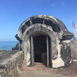 Fort Lookout by Amber O'Hara - Buildings & Architecture Statues & Monuments ( puerto rico, stone, san juan, fort )