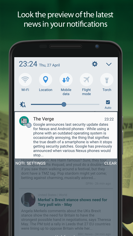 News by Notifications PRO Screenshot 4