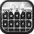 App Black and White Keyboard Theme APK for Kindle