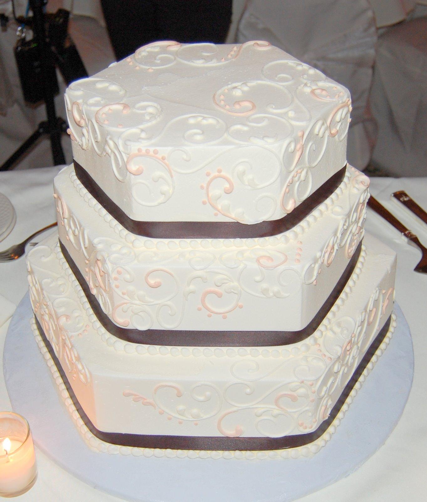 A very unique wedding cake