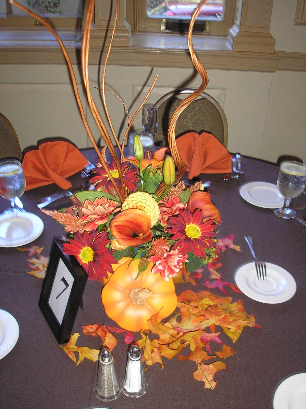 Nancees blog fall wedding centerpieces on a fall wedding centerpieces on a junglespirit Images