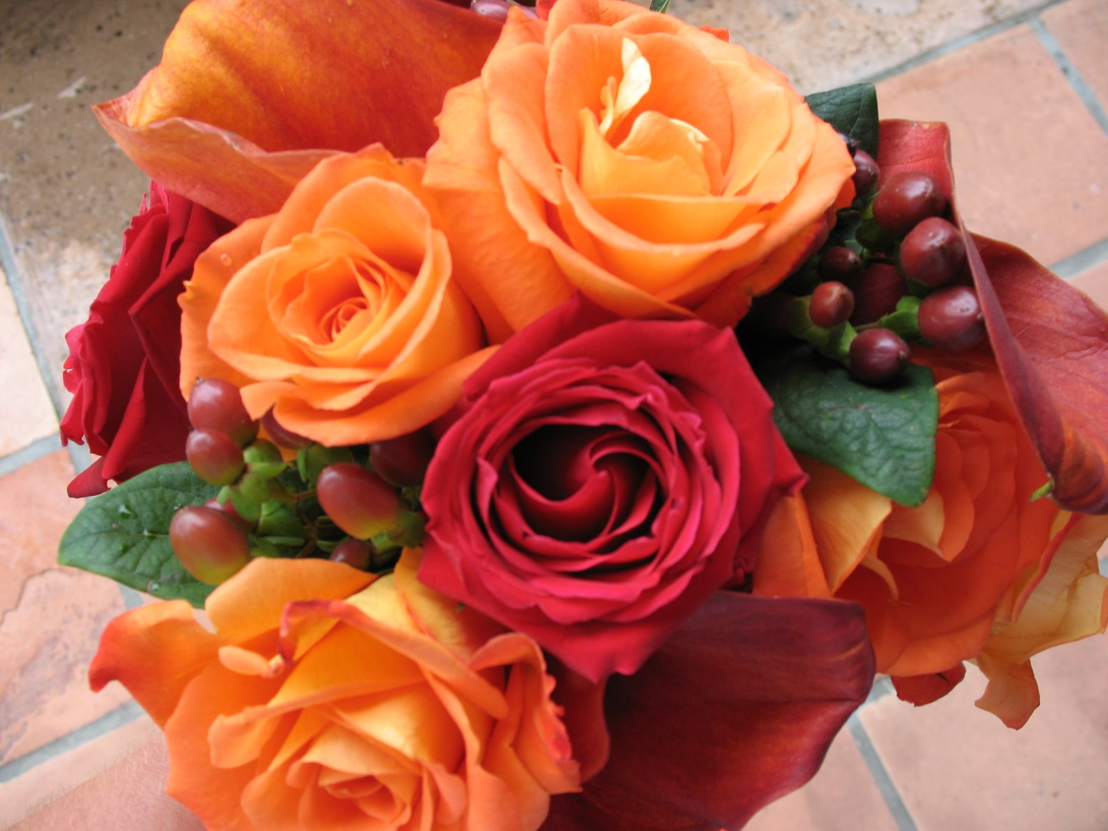 Autumn wedding bouquet?