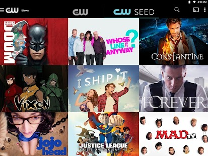 The CW APK for iPhone