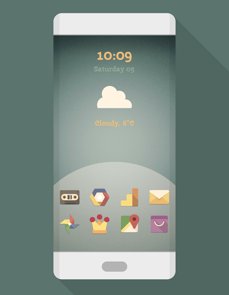 PHIX RETRO - ICON PACK 7.0