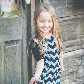 Mekayla's dress by Jenny Hammer - Babies & Children Child Portraits ( outdoor, dress, girl, cute, child )
