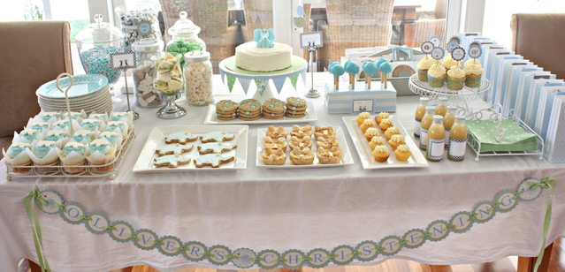 Baby Elephant Dessert Table