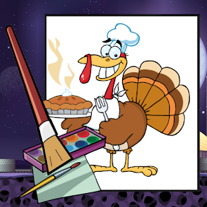 Thanksgiving Coloring Kid Game for Android