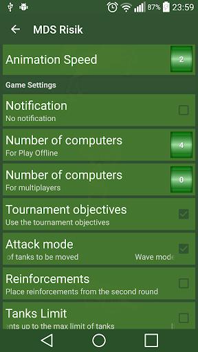 MDS Risik - screenshot