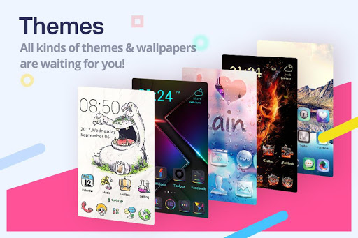 ZERO Launcher for Android - HD Theme, Super 3D screenshot 1