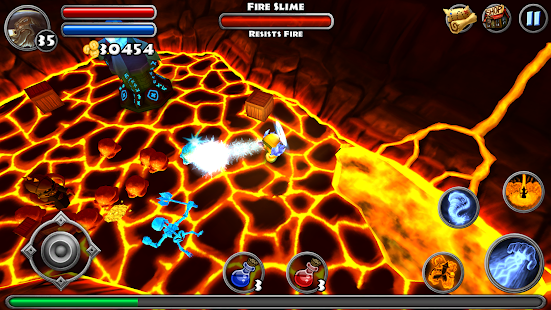 Game Dungeon Quest apk for kindle fire