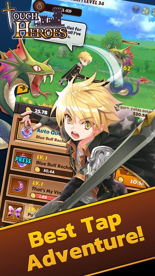 Touch Heroes Screenshot 1