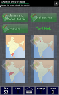 India States Match FREE - screenshot
