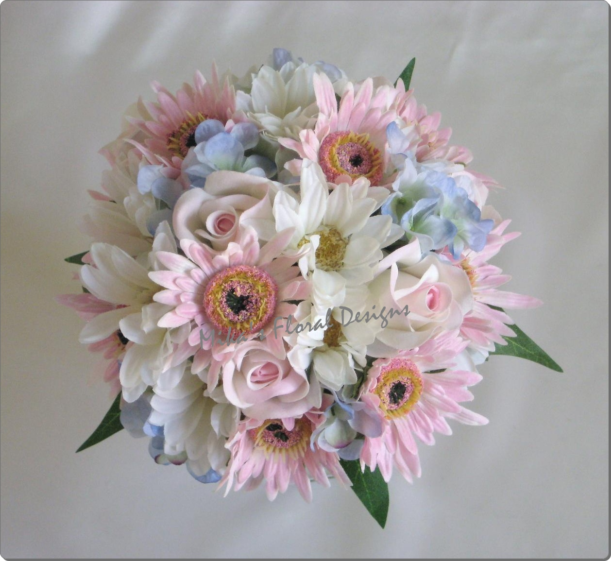 silk wedding flowers