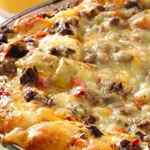 Cheesy Southwest Egg Bake