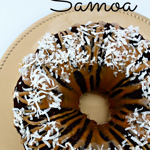 Simple Samoa Bundt Cake