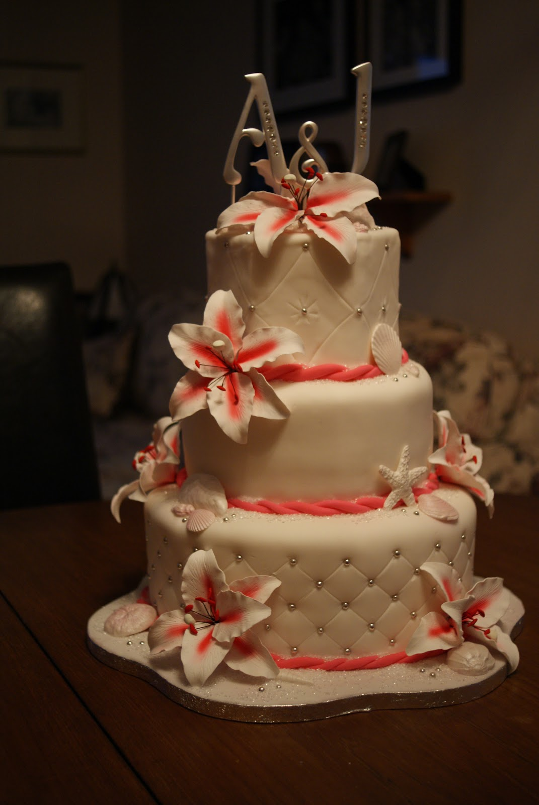 Jodi Lynns Blog Beautiful Beach Wedding Cake