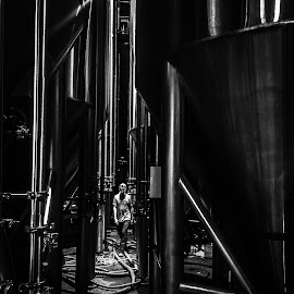 Ballas--t Point Brewery by Brendan Mcmenamy - Novices Only Street & Candid ( brewery, sculpin, point, ipa, brew, ballast )